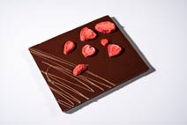 Show product details for Dark Chocolate Strawberry Bar